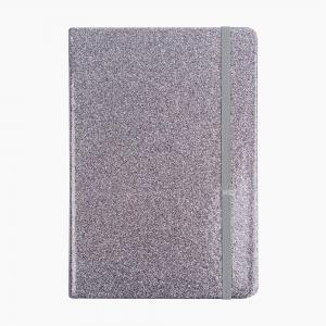 Syloon - Syloon A5 Çizgili Defter Silver 8726
