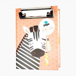 Syloon - Syloon Clip Board Kapaklı Not Defteri 8092