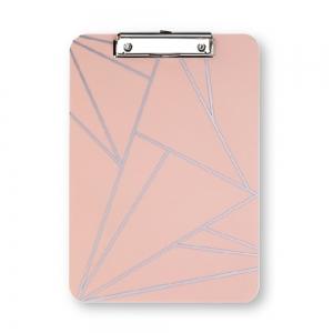 Syloon - Syloon A4 Clip Board Pembe 8948
