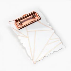 Syloon - Syloon A6 Mini Clip Board Beyaz 8955