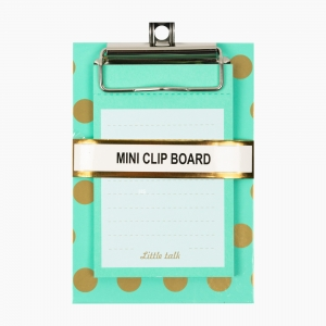 Syloon - Syloon A6 Mini Clip Board Notluklu Yeşil 8993