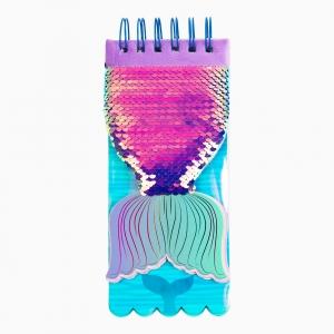 Syloon - Syloon Pullu Mermaid Telli Bloknot 9228