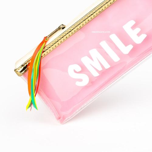 Syloon Smile Şeffaf Kalem Çantası 7750