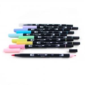 Tombow Dual Brush 10′lu Fırça Uçlu Pastel Kalem Seti - Thumbnail
