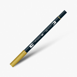 Tombow - Tombow Dual Brush Pen 026 Yellow Gold