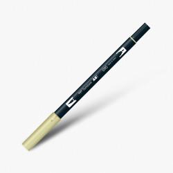 Tombow - Tombow Dual Brush Pen 090 Baby Yellow