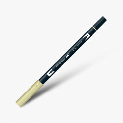 Tombow - Tombow Dual Brush Pen 090 Baby Yellow