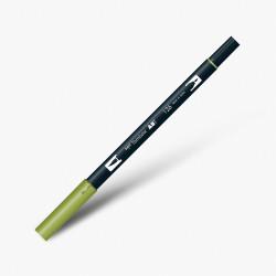 Tombow - Tombow Dual Brush Pen 126 Light Olive