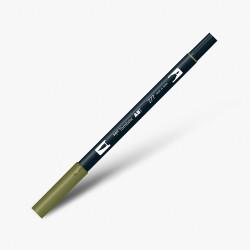 Tombow - Tombow Dual Brush Pen 277 Dark Green