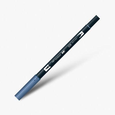 Tombow Dual Brush Pen 528 Navy Blue