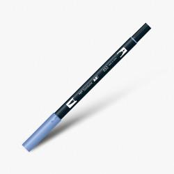 Tombow - Tombow Dual Brush Pen 553 Mist Purple