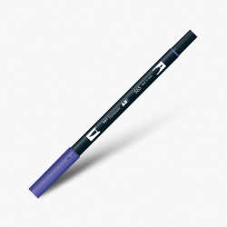 Tombow - Tombow Dual Brush Pen 565 Deep Blue
