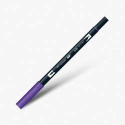 Tombow - Tombow Dual Brush Pen 606 Violet