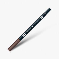 Tombow - Tombow Dual Brush Pen 879 Brown