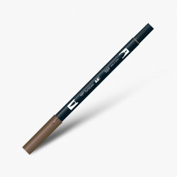Tombow - Tombow Dual Brush Pen 969 Chocolate