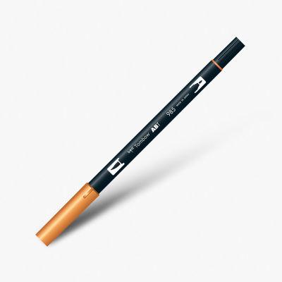Tombow Dual Brush Pen 985 Chrome Yellow