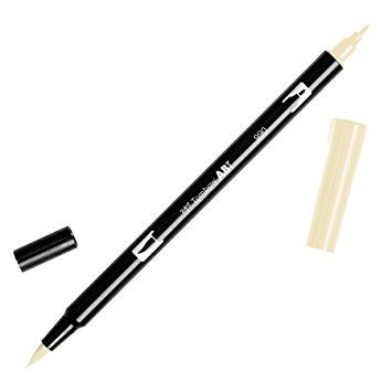 Tombow Dual Brush Pen 990 Light Sand