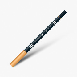 Tombow - Tombow Dual Brush Pen 991 Light Ochre
