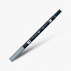 Tombow - Tombow Dual Brush Pen N60 Cool Grey 6