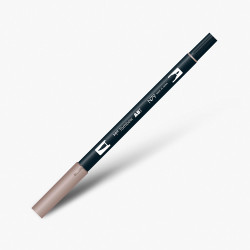 Tombow - Tombow Dual Brush Pen N79 Warm Grey 2
