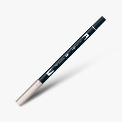 Tombow - Tombow Dual Brush Pen N89 Warm Grey 1