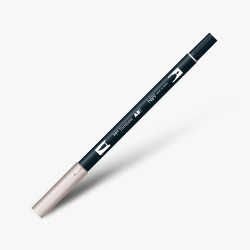 Tombow - Tombow Dual Brush Pen N89 Warm Grey 1