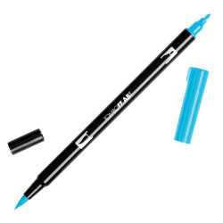 Tombow - Tombow Dual Brush Pen 443 Turquoise