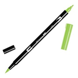 Tombow - Tombow Dual Brush Pen 173 Willow Green