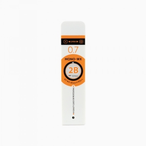 Tombow - Tombow MONO-WX 0.7 mm 2B 40'lı Min (Uç) XC R7-WX 2B LIV