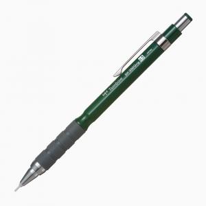Tombow - Tombow SH-300Grip 0.5 mm Mekanik Kurşun Kalem Koyu Yeşil 5159