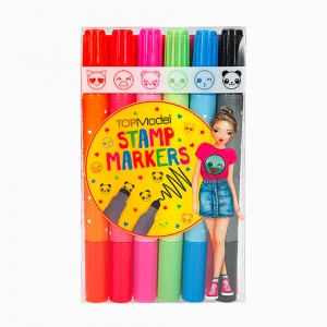 Top Model - Top Model 6'lı Marker/Damga Seti 046432_A 9233
