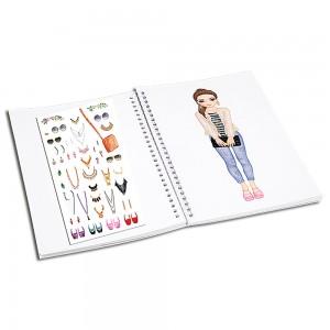 TOP MODEL Dress Me Up Stickerlı Model Giydirme - Thumbnail