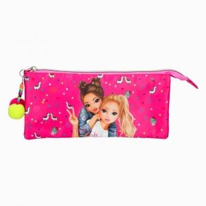 Top Model - Top Model Fergie & Candy Çift Fermuarlı Kalem Çantası 0410355 2482