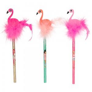Top Model - TOP MODEL Flamingo Silgili Kurşun Kalem