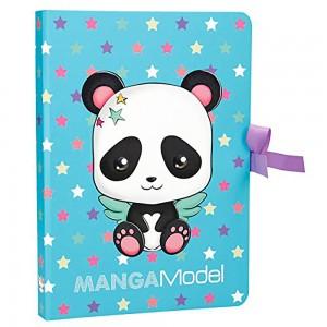 Top Model - TOP MODEL Manga Panda Defter Set