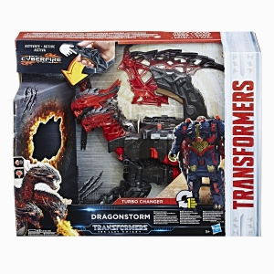 - Transformers The Last Knight Turbo Changer Action Figure Dragonstorm