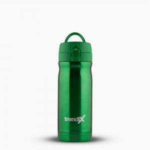 Trendix - Trendix Çelik İçli Matara-Termos 350ml Neon Yeşil U1800-NY 7094