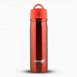 Trendix - Trendix Çelik İçli Matara-Termos 500ml Neon Turuncu U5000-NT 7162