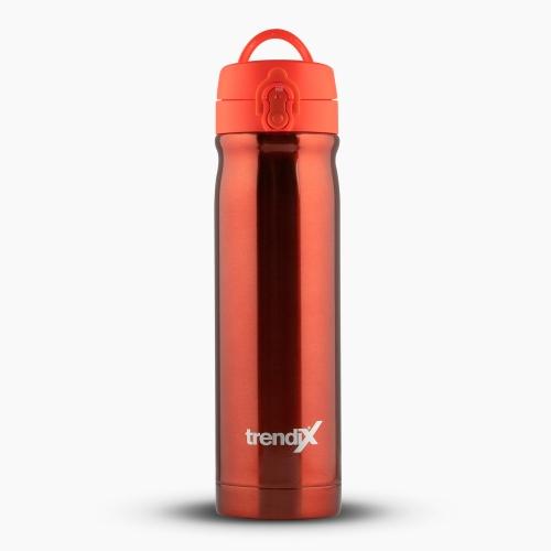Trendix Çelik İçli Matara-Termos 500ml Neon Turuncu U5000-NT 7162