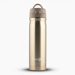 Trendix - Trendix Çelik İçli Matara-Termos 500ml Sütlü Kahve U5000-SK 7209