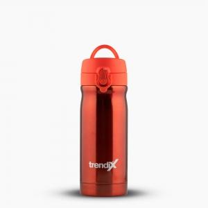 Trendix - Trendix Çelik İçli Matara-Termos 350ml Neon Turuncu U1800-NT 7155