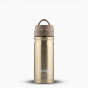 Trendix - Trendix Çelik İçli Matara-Termos 350ml Sütlü Kahve U1800-SK 7193