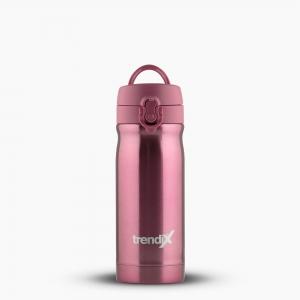 Trendix - Trendix Çelik İçli Matara-Termos 350ml Toz Pembe U1800-TP 7254