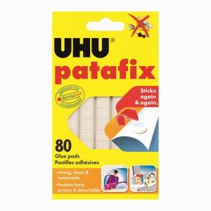UHU - UHU Patafix 80 Ad. Beyaz Hamur Yapıştırıcı 39125 1251
