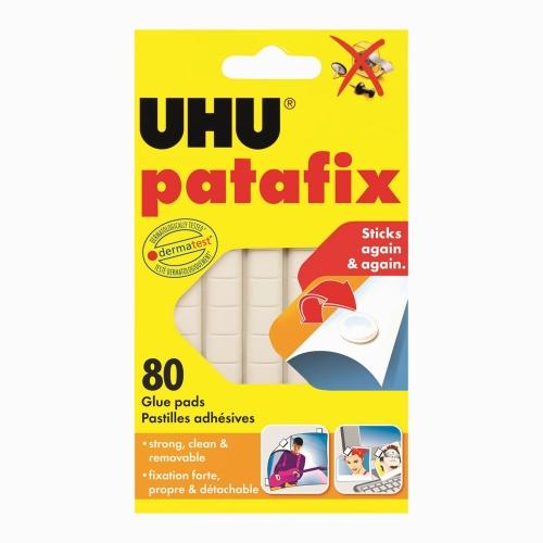 UHU Patafix 80 Ad. Beyaz Hamur Yapıştırıcı 39125 1251