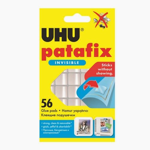 UHU Patafix Invisible 56 Ad. Şeffaf Hamur Yapıştırıcı 37155 1550