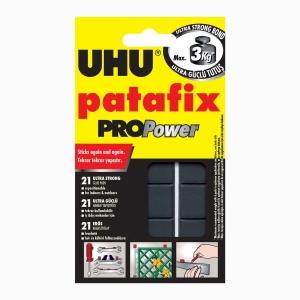 UHU - UHU Patafix PROPower 21 Ad. Ultra Güçlü Siyah Hamur Yapıştırıcı 40790 7907