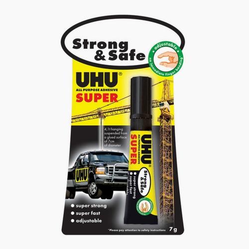 UHU Strong&Safe Süper Güçlü Genel Amaçlı Yapıştırıcı 39370 3705