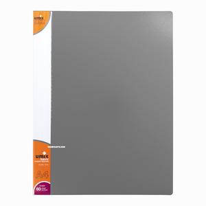 Umix - Umix A4 60 Poşetli Basic Sunum Dosyası Gri U1145P 4235