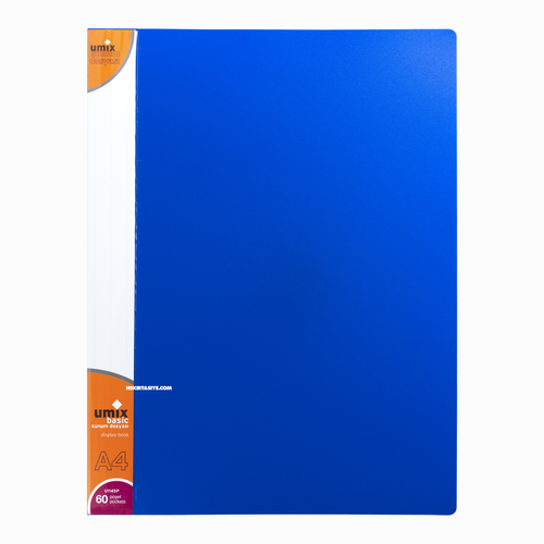 Umix A4 60 Poşetli Basic Sunum Dosyası Lacivert U1145P 5318